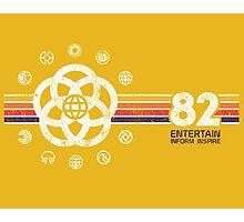 EPCOT Center Vintage Style Distressed Pavilion Logos  Photographic Print
