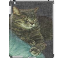 Moose Cat Nap iPad Case/Skin