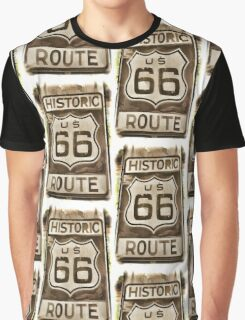 Historic Route 66  Graphic T-Shirt