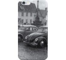 VW Bugs in the Rain iPhone Case/Skin