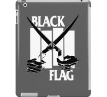 black flag logo  iPad Case/Skin
