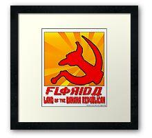 Banana Republicans Framed Print