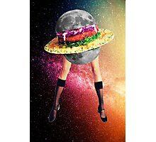 Moon snack Photographic Print