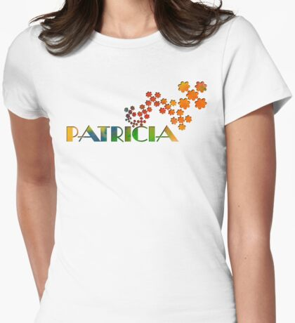 The Name Game - Patricia Womens Fitted T-Shirt