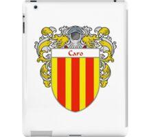 Caro Coat of Arms/Family Crest iPad Case/Skin