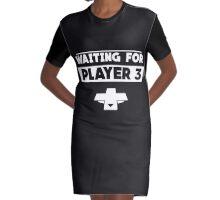 Player 3 Graphic T-Shirt Dress