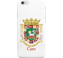 Caro Shield of Puerto Rico iPhone Case/Skin