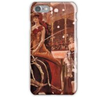 Riding in the Circus iPhone Case/Skin