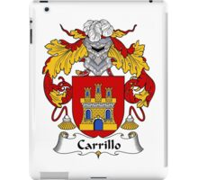 Carrillo Coat of Arms/Family Crest iPad Case/Skin