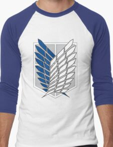 attack on titan Men's Baseball ¾ T-Shirt