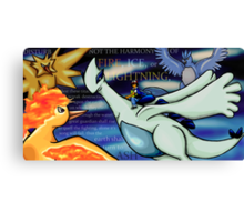 Disturb Not (Pokemon 2000) Canvas Print