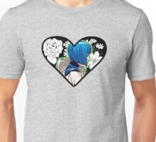 blue heart Unisex T-Shirt