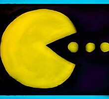 Pac Man by BryonyMay