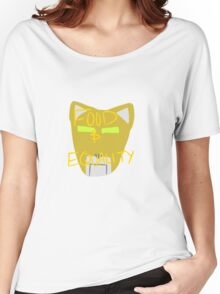 Yellow Lion: Voltron Legendary Defender Women's Relaxed Fit T-Shirt