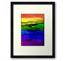 Love Wins!!  Framed Print