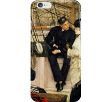 Captain and First Mate with Ladies iPhone Case/Skin