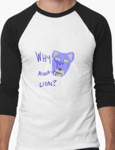 Blue Lion: Voltron Legendary Defender Men's Baseball ¾ T-Shirt