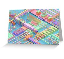 abstract3D Greeting Card
