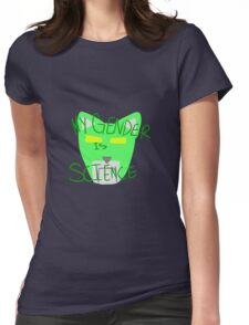 Green Lion: Voltron Legendary Defender Womens Fitted T-Shirt