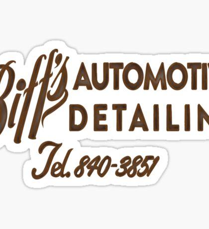 Biff's Automotive Detailing Sticker