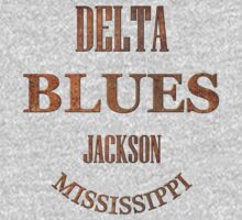 Rusty delta blues jackson mississippi One Piece - Long Sleeve