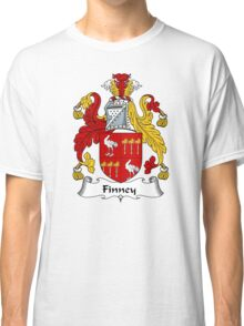 Finney Coat of Arms / Finney Family Crest Classic T-Shirt