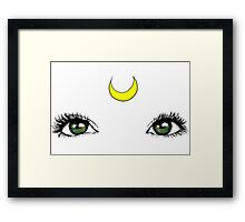 Sailor Moon Eyes Framed Print