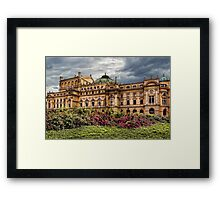 Slowacki Theatre in Cracow Framed Print