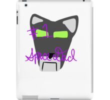 Black Lion: Voltron Legendary Defender iPad Case/Skin