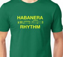 Habanera rhythm yellow Unisex T-Shirt