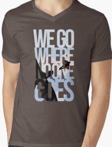 Where No One Goes Mens V-Neck T-Shirt