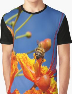Bee and Flower  Graphic T-Shirt