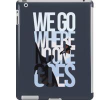 Where No One Goes iPad Case/Skin