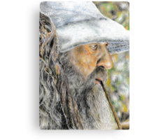 Gandalf The Grey - The Hobbit: An Unexpected Journey Canvas Print