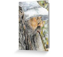 Gandalf The Grey - The Hobbit: An Unexpected Journey Greeting Card