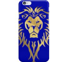LION OF STORMWIND iPhone Case/Skin