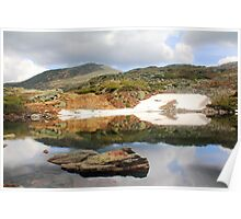 Lake in the Clouds, Mount Washington, New Hampshire Poster