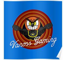Vanoss Gaming 1930's Cartoon Character Poster