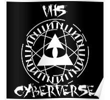 VHS CyberVerse EP Logo Poster