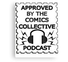 Comics Collective Podcast Logo Canvas Print