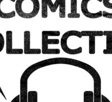 Comics Collective Podcast Logo Sticker