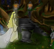 The Mirror of Lothlorien by thegamingmuse