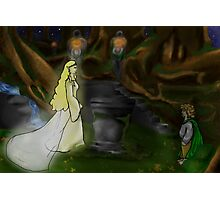 The Mirror of Lothlorien Photographic Print