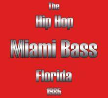 Hip hop miami bass (silver) Kids Tee