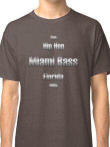 Hip hop miami bass (silver) Classic T-Shirt
