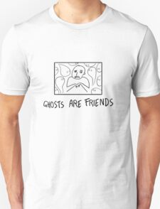 Ghosts Are Friends Unisex T-Shirt