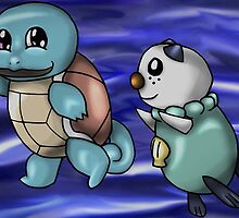 Water Starters by thegamingmuse