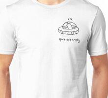 space isn't empty Unisex T-Shirt