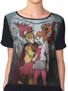 The Angels take the Ponds Chiffon Top
