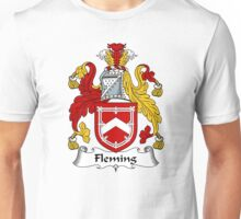 Fleming Coat of Arms / Fleming Family Crest Unisex T-Shirt